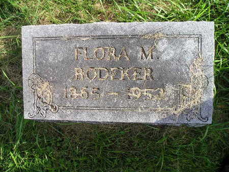 BODEKER, FLORA M - Bremer County, Iowa | FLORA M BODEKER