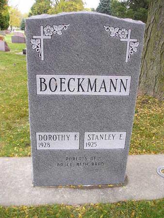BOECKMANN, STANLEY F - Bremer County, Iowa | STANLEY F BOECKMANN