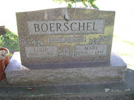 BOERSCHEL, MARY - Bremer County, Iowa | MARY BOERSCHEL
