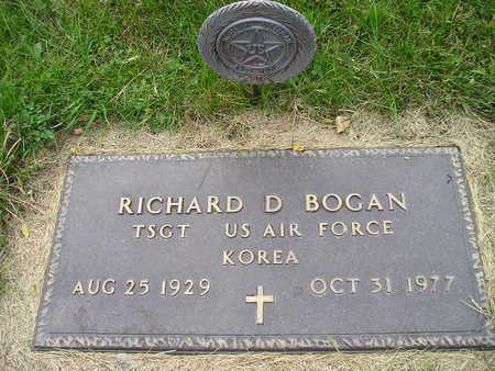BOGAN, RICHARD D - Bremer County, Iowa | RICHARD D BOGAN
