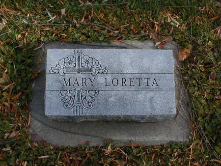 BOHAN, MARY LORETTA - Bremer County, Iowa   MARY LORETTA BOHAN