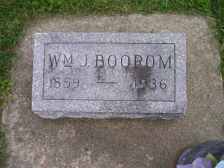 BOOROM, WM J - Bremer County, Iowa | WM J BOOROM
