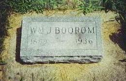 BOOROM, WILLIAM J. - Bremer County, Iowa | WILLIAM J. BOOROM