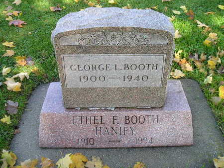 BOOTH, ETHEL F - Bremer County, Iowa | ETHEL F BOOTH