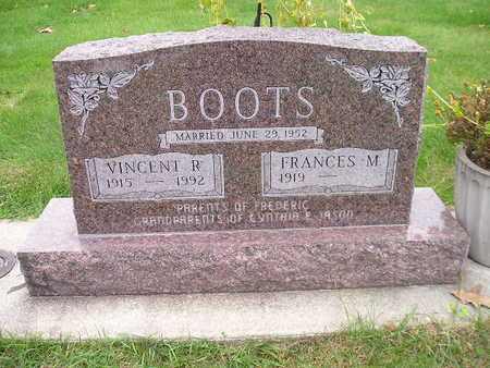 BOOTS, FRANCES M - Bremer County, Iowa | FRANCES M BOOTS