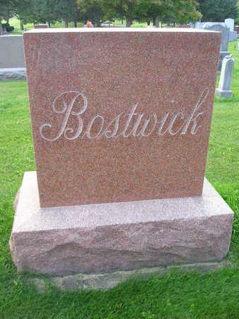 BOSTWICK, ARTHUR & THERESA - Bremer County, Iowa | ARTHUR & THERESA BOSTWICK