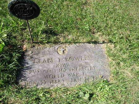 BOWLES, GLABE F - Bremer County, Iowa | GLABE F BOWLES