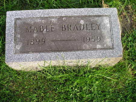 BRADLEY, MABLE - Bremer County, Iowa | MABLE BRADLEY