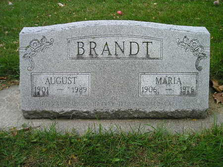 BRANDT, AUGUST - Bremer County, Iowa | AUGUST BRANDT