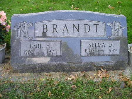 BRANDT, SELMA D - Bremer County, Iowa | SELMA D BRANDT