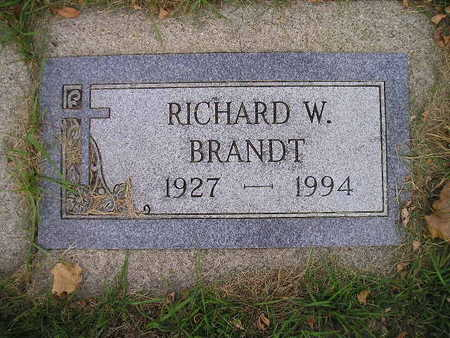 BRANDT, RICHARD W - Bremer County, Iowa | RICHARD W BRANDT
