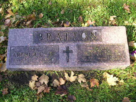 BRATTON, ARTHUR C - Bremer County, Iowa | ARTHUR C BRATTON