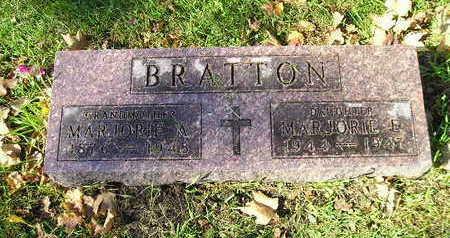 BRATTON, MARJORIE E - Bremer County, Iowa | MARJORIE E BRATTON