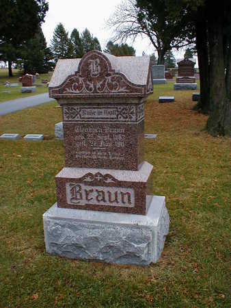 BRAUN, ELEANORA - Bremer County, Iowa | ELEANORA BRAUN