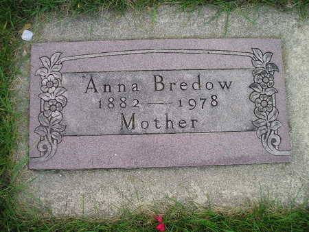BREDOW, ANNA - Bremer County, Iowa | ANNA BREDOW