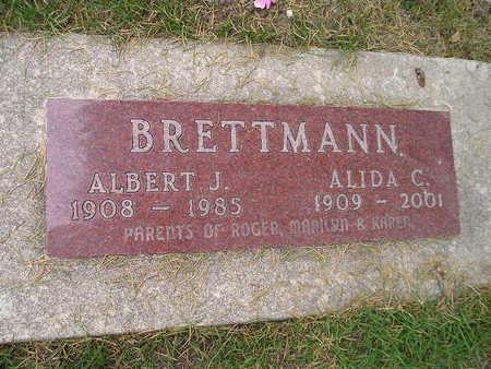 BRETTMANN, ALIDA C - Bremer County, Iowa | ALIDA C BRETTMANN
