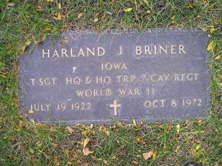 BRINER, HARLAND J - Bremer County, Iowa | HARLAND J BRINER