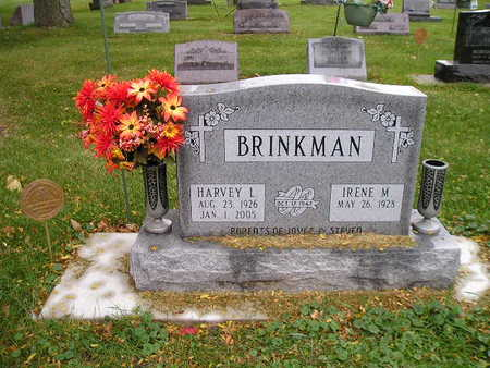BRINKMAN, HARVEY  L - Bremer County, Iowa | HARVEY  L BRINKMAN