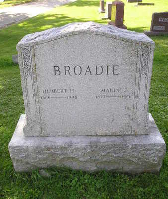 LEE BROADIE, MINNIE B - Bremer County, Iowa | MINNIE B LEE BROADIE
