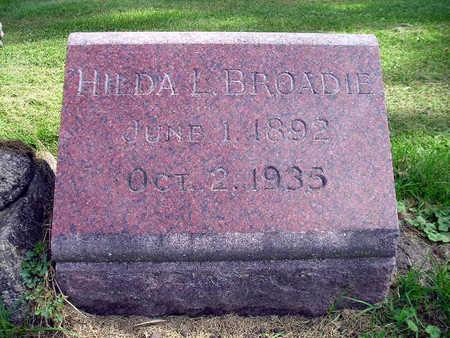 BROADIE, HILDA L - Bremer County, Iowa | HILDA L BROADIE