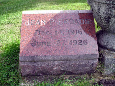 BROADIE, JEAN P - Bremer County, Iowa | JEAN P BROADIE