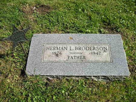 BRODERSON, HERMAN L - Bremer County, Iowa | HERMAN L BRODERSON
