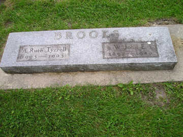 BROOKS, A RUTH - Bremer County, Iowa | A RUTH BROOKS