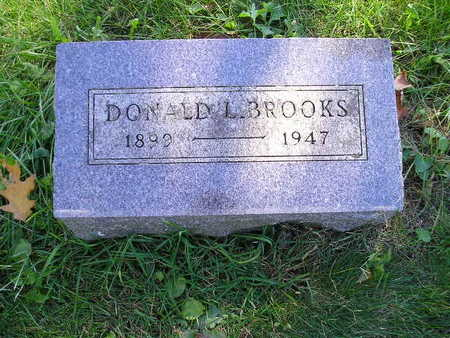 BROOKS, DONALD L - Bremer County, Iowa | DONALD L BROOKS