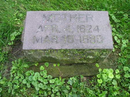 BROWN, MOTHER (MRS WM) - Bremer County, Iowa | MOTHER (MRS WM) BROWN
