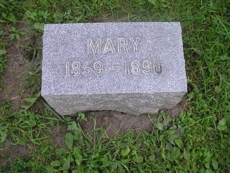 BROWN, MARY JANE - Bremer County, Iowa | MARY JANE BROWN
