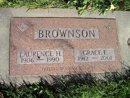BROWNSON, GRACE E - Bremer County, Iowa | GRACE E BROWNSON