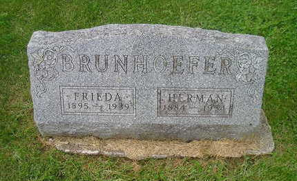 BRUNHOEFER, HERMAN - Bremer County, Iowa | HERMAN BRUNHOEFER
