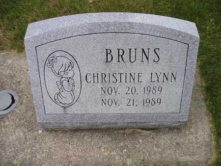 BRUNS, CHRISTINE LYNN - Bremer County, Iowa | CHRISTINE LYNN BRUNS