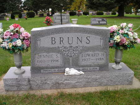 BRUNS, JENNIE S - Bremer County, Iowa | JENNIE S BRUNS