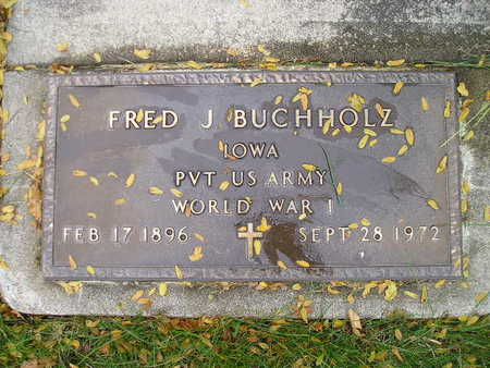 BUCHHOLZ, FRED J - Bremer County, Iowa | FRED J BUCHHOLZ