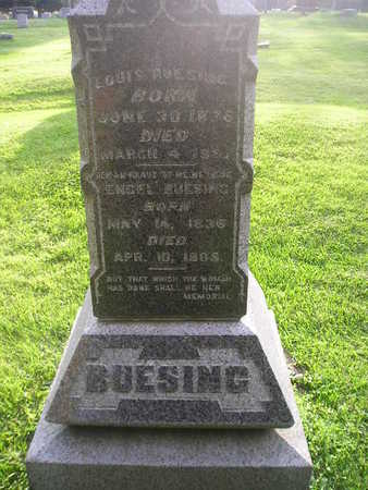 BUESING, LOUIS - Bremer County, Iowa | LOUIS BUESING