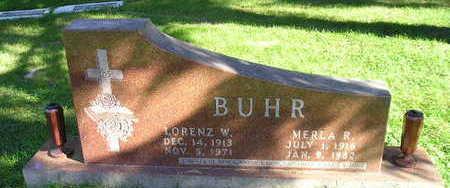 BUHR, LORENZ W - Bremer County, Iowa | LORENZ W BUHR