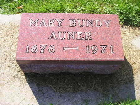 BUNDY, MARY - Bremer County, Iowa | MARY BUNDY