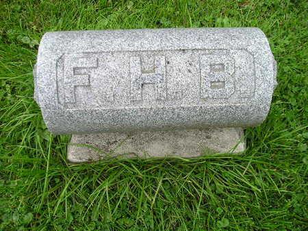 BUNTH, FHB  (FREDERICK) - Bremer County, Iowa | FHB  (FREDERICK) BUNTH