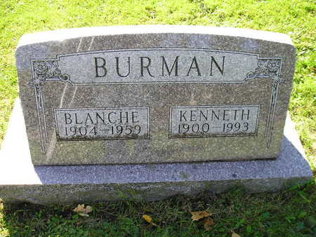BURMAN, BLANCHE - Bremer County, Iowa | BLANCHE BURMAN