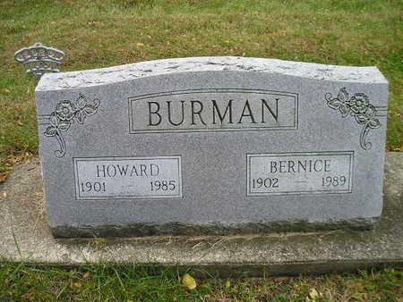 BURMAN, HOWARD - Bremer County, Iowa | HOWARD BURMAN