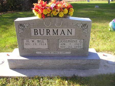 BURMAN, JOSEPHINE G - Bremer County, Iowa | JOSEPHINE G BURMAN