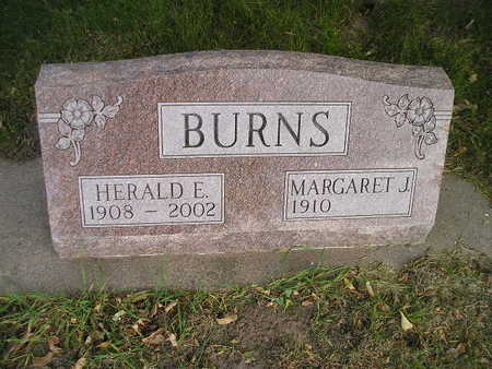 BURNS, HERALD E - Bremer County, Iowa | HERALD E BURNS
