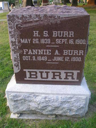 BURR, H S - Bremer County, Iowa | H S BURR