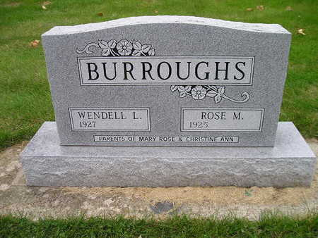BURROUGHS, WENDELL L - Bremer County, Iowa | WENDELL L BURROUGHS