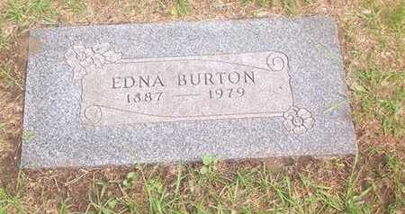 JONES BURTON, EDNA - Bremer County, Iowa | EDNA JONES BURTON