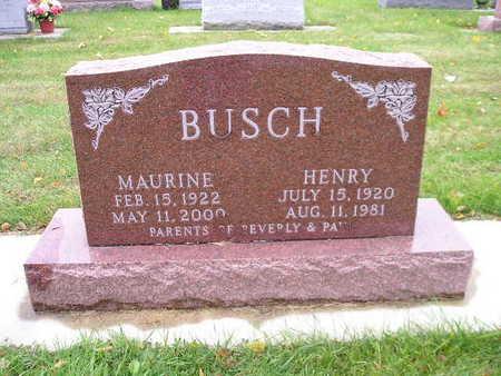 BUSCH, MAURINE - Bremer County, Iowa | MAURINE BUSCH