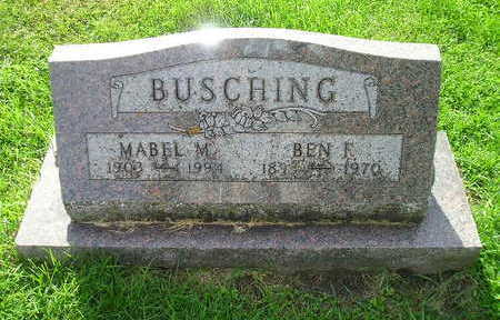 BUSCHING, MABEL M. - Bremer County, Iowa | MABEL M. BUSCHING