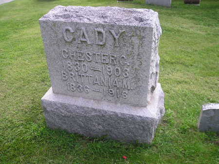 CADY, CHESTER - Bremer County, Iowa | CHESTER CADY