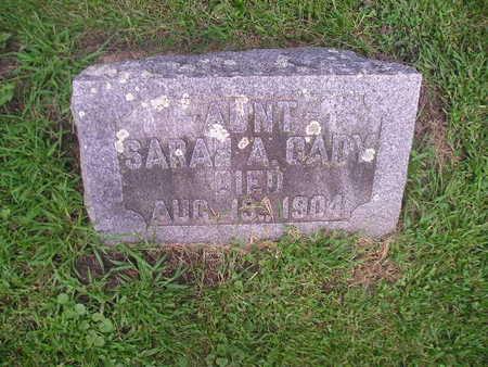 CADY, SARAH - Bremer County, Iowa | SARAH CADY